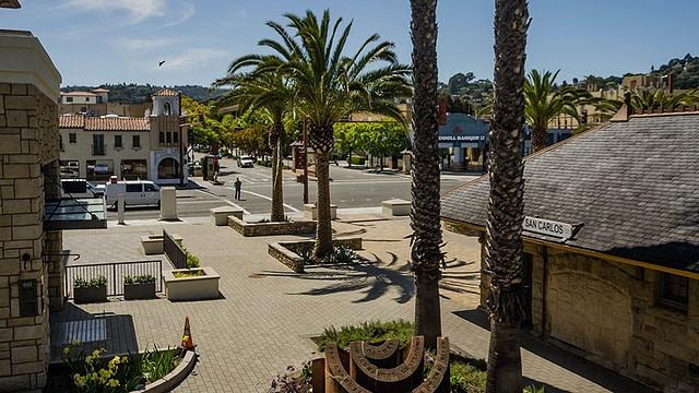 City of San Carlos - View from Caltrain Platform